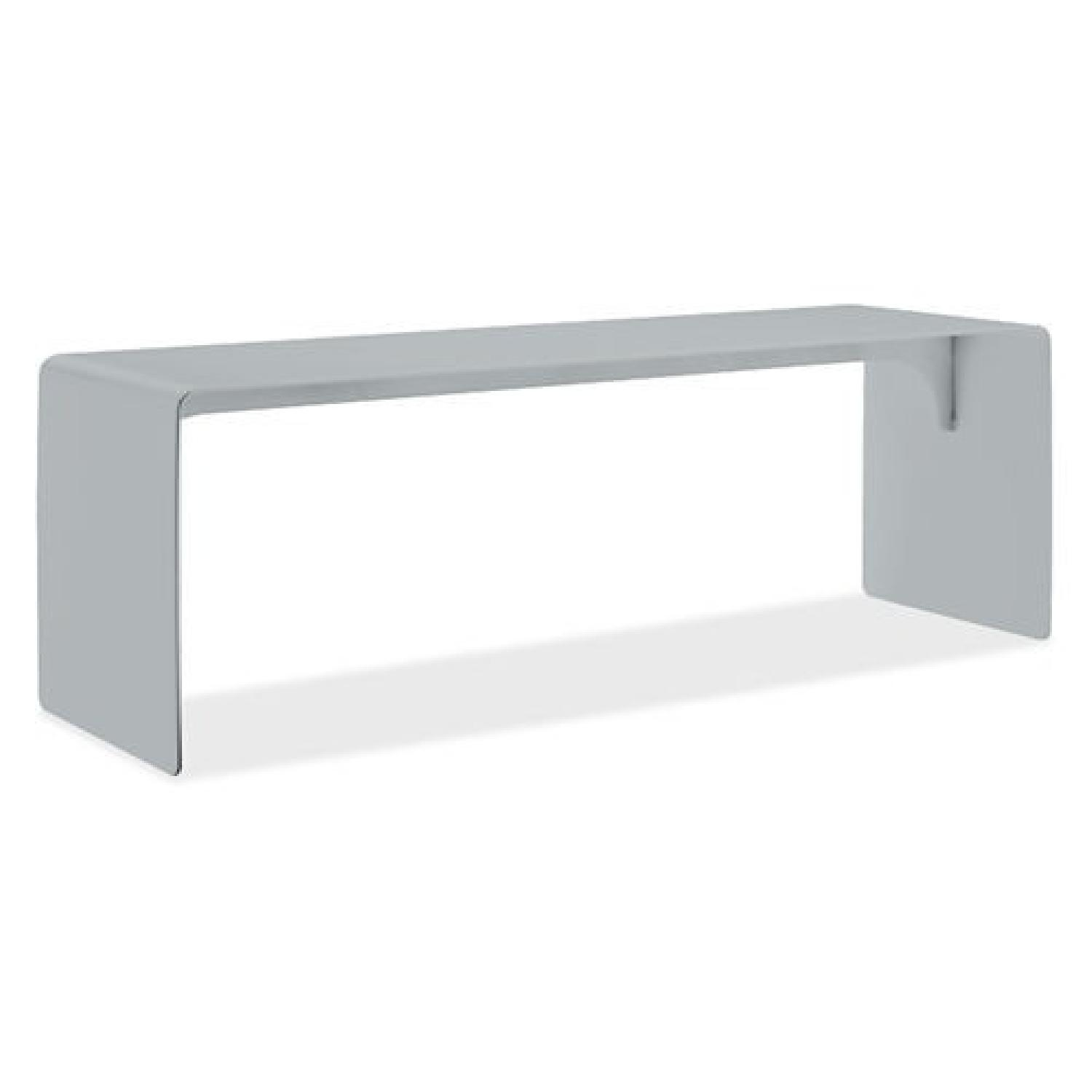 Room & Board Cooper Outdoor Bench in Silver