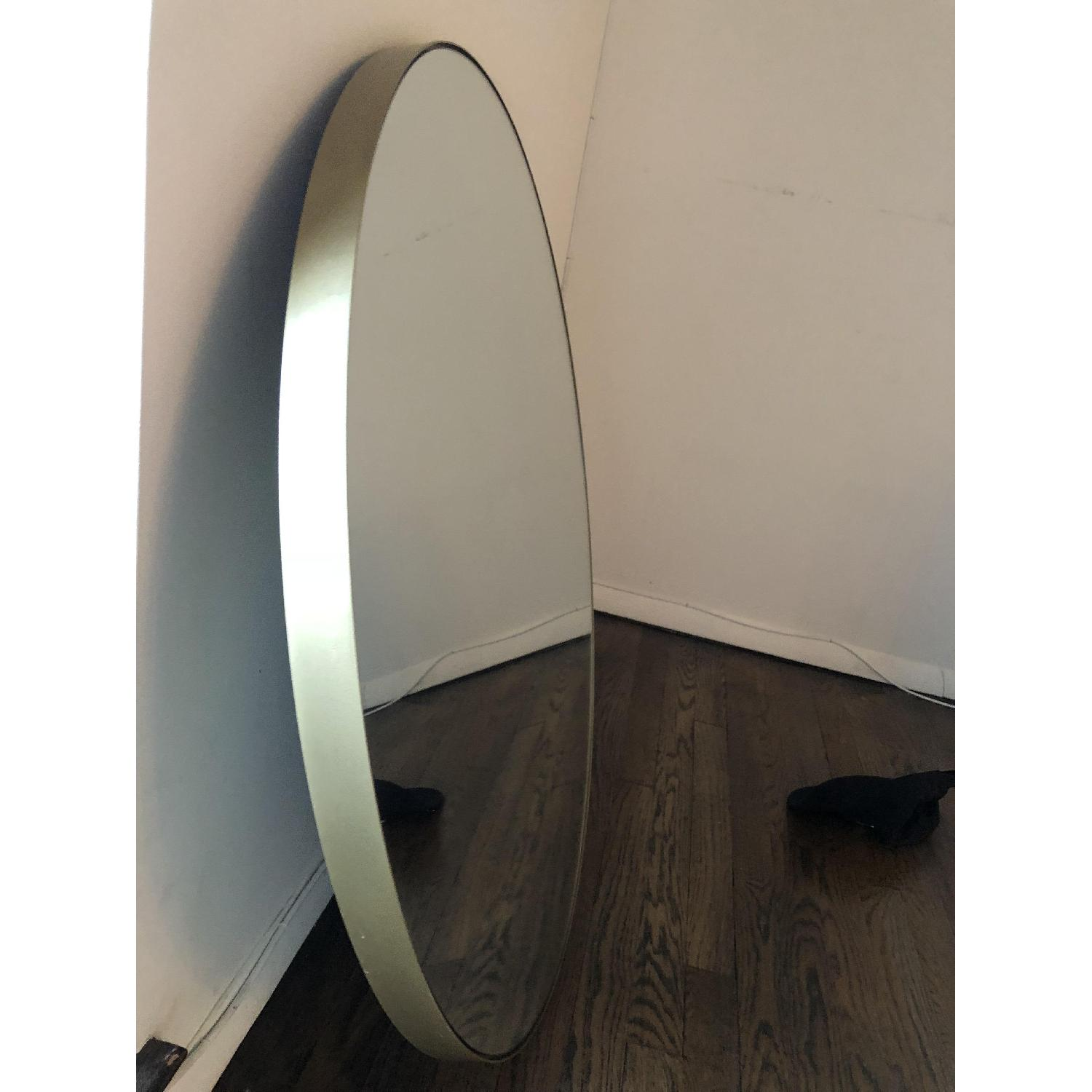 Room & Board Infinity Round Mirror in Gold-2