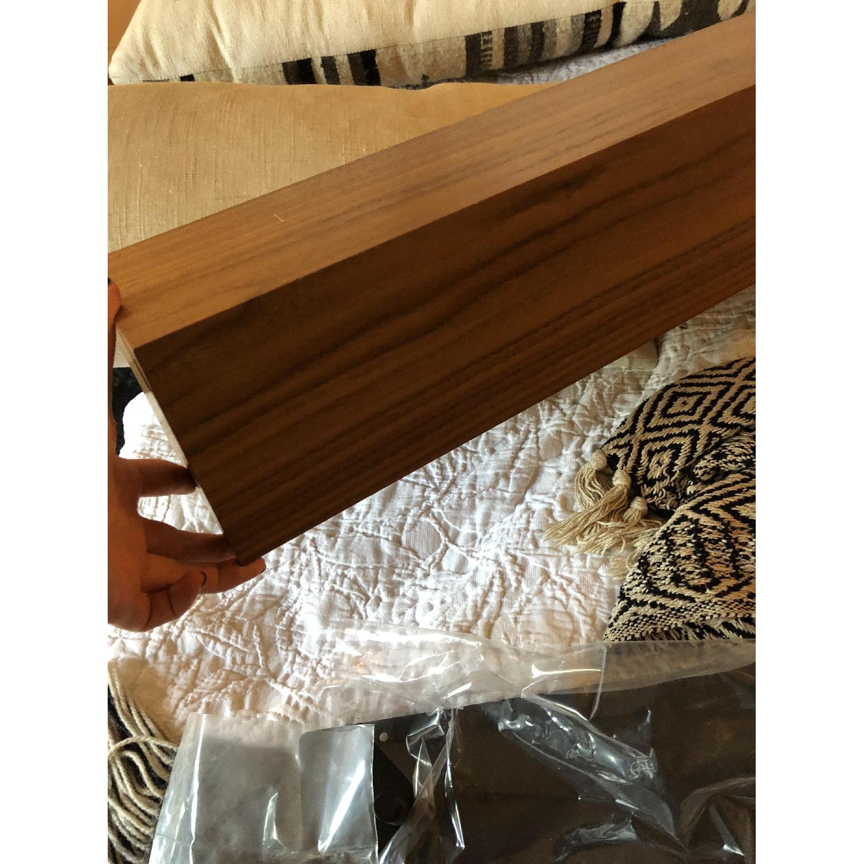 Room & Board Float Modern Box Wall Shelf in Walnut-0