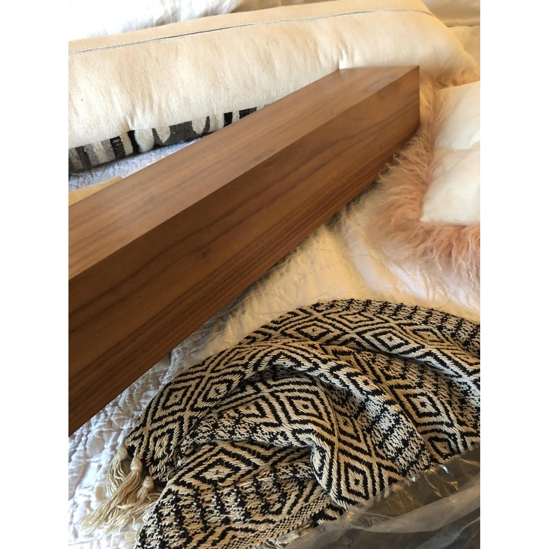 Room & Board Float Modern Box Wall Shelf in Walnut-1