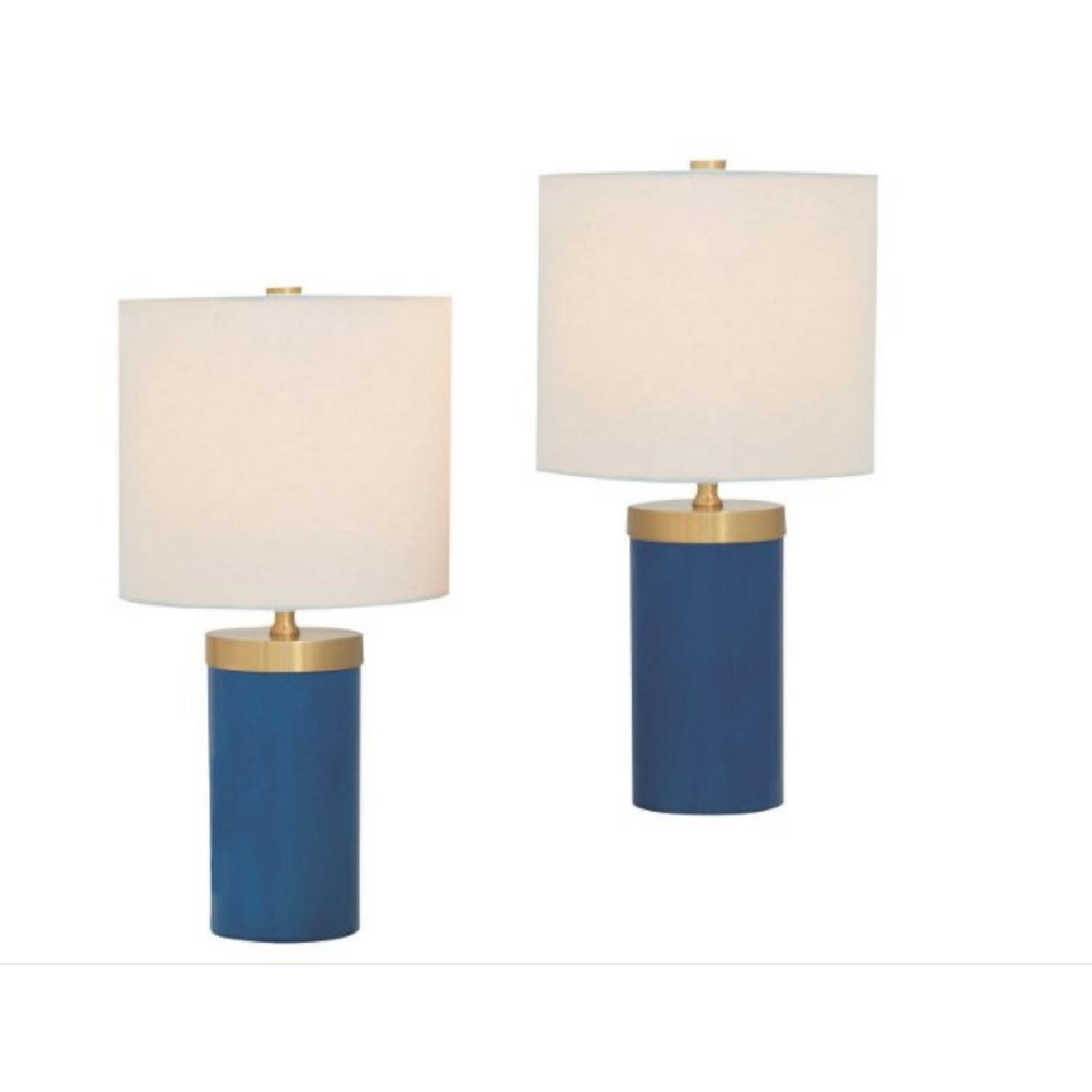 Marty Port 68 S/2 Table Lamps in Turquoise-0