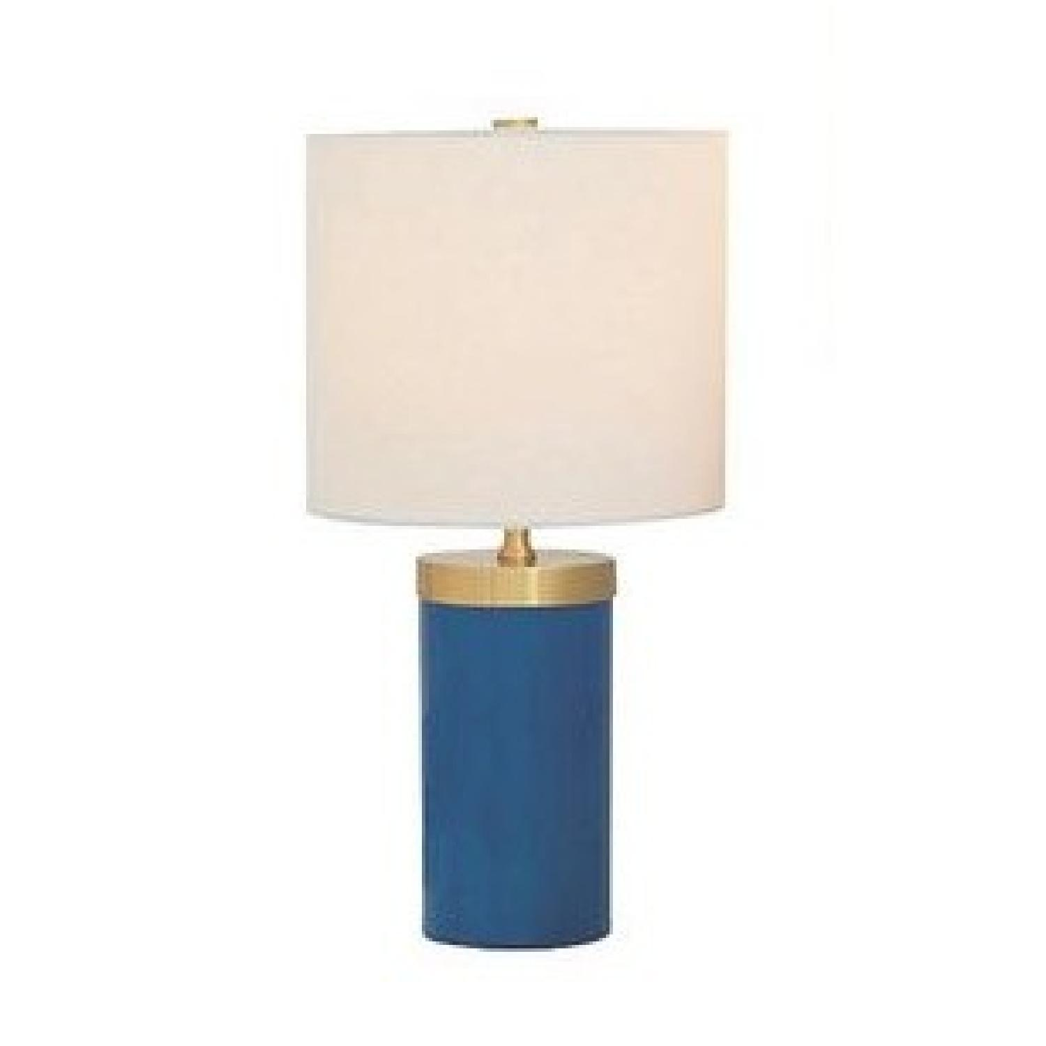 Marty Port 68 S/2 Table Lamps in Turquoise
