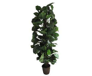 Giant Faux Devil's Ivy Potted Plant