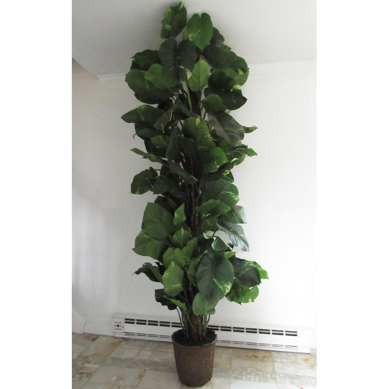 Giant Faux Devil's Ivy Potted Plant-0