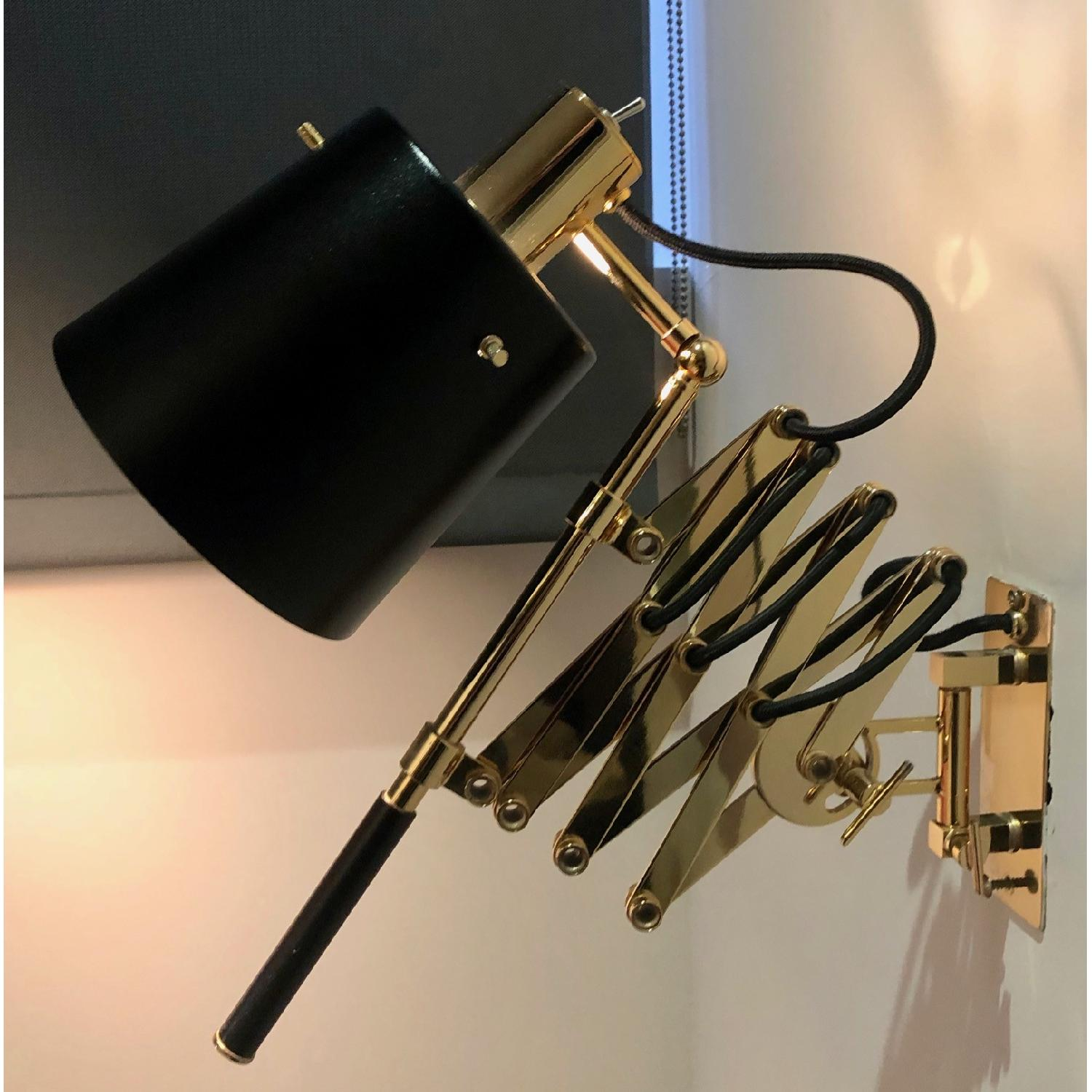 Delighttfull Pastorius Wall Lamps in Gold/Black-1