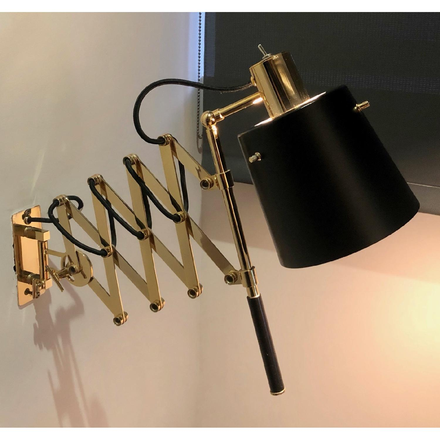 Delighttfull Pastorius Wall Lamps in Gold/Black-2