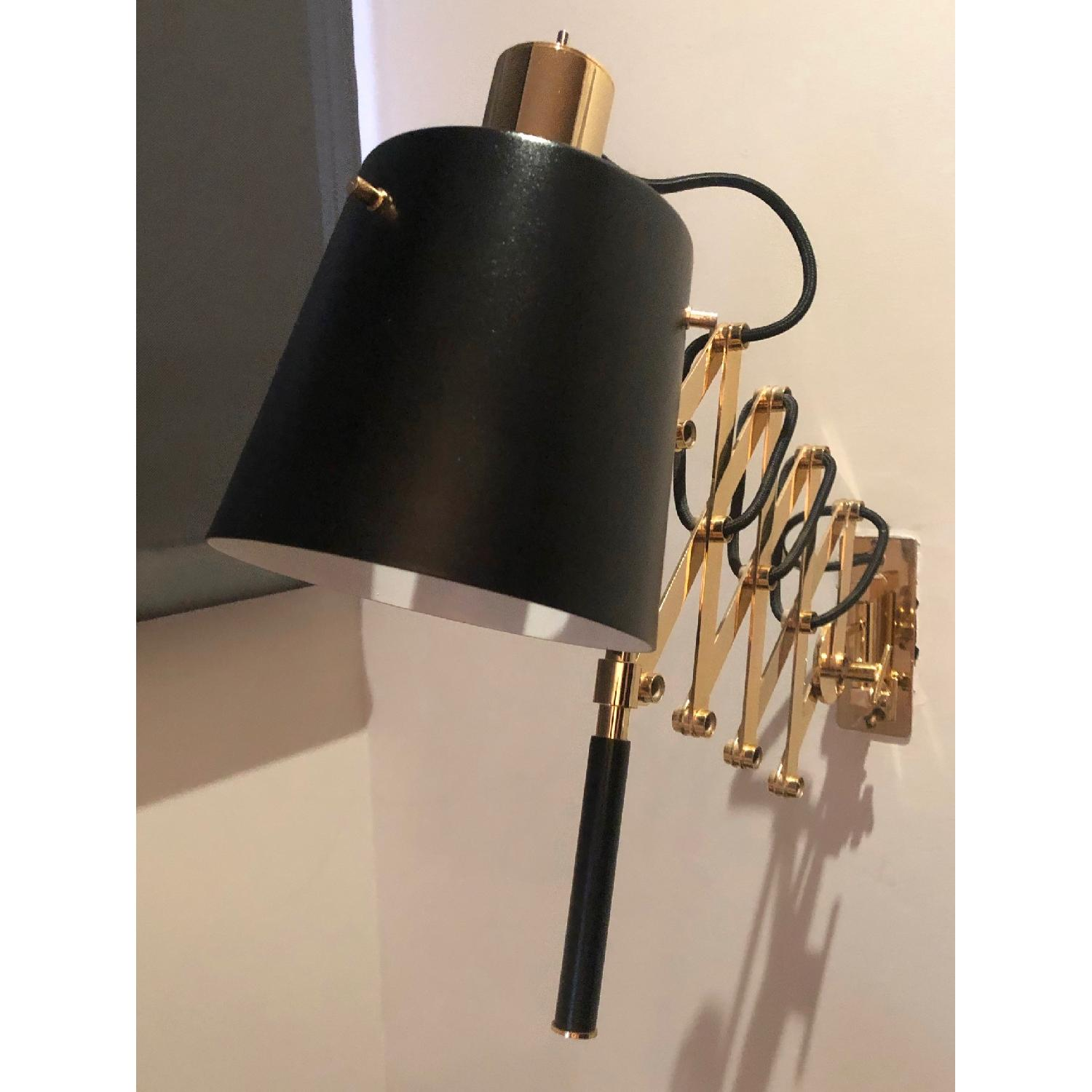 Delighttfull Pastorius Wall Lamps in Gold/Black-8