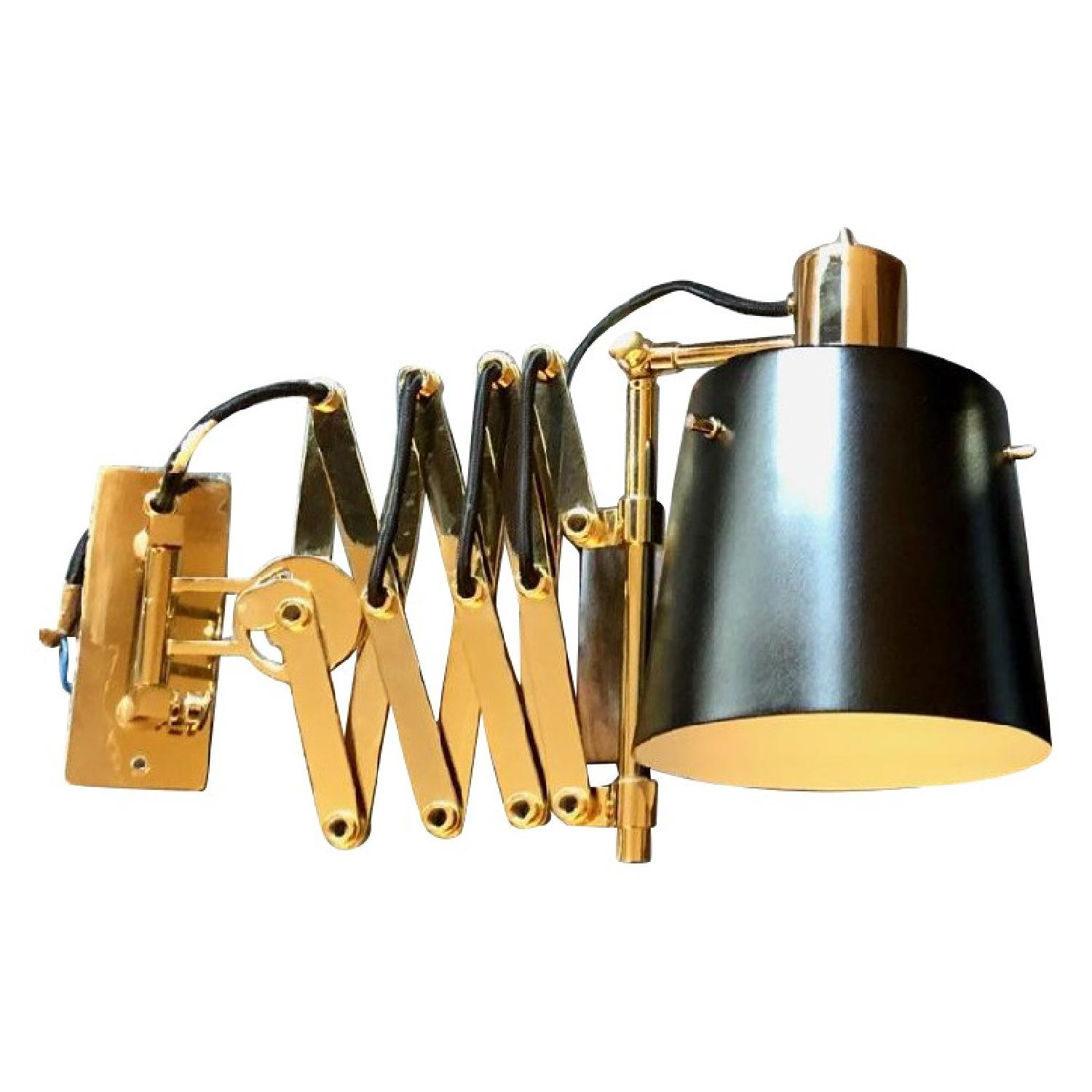 Delighttfull Pastorius Wall Lamps in Gold/Black