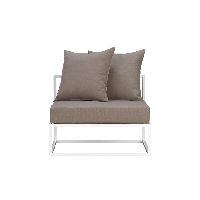 CB2 Casbah Outdoor 3-Piece Sectional Sofa