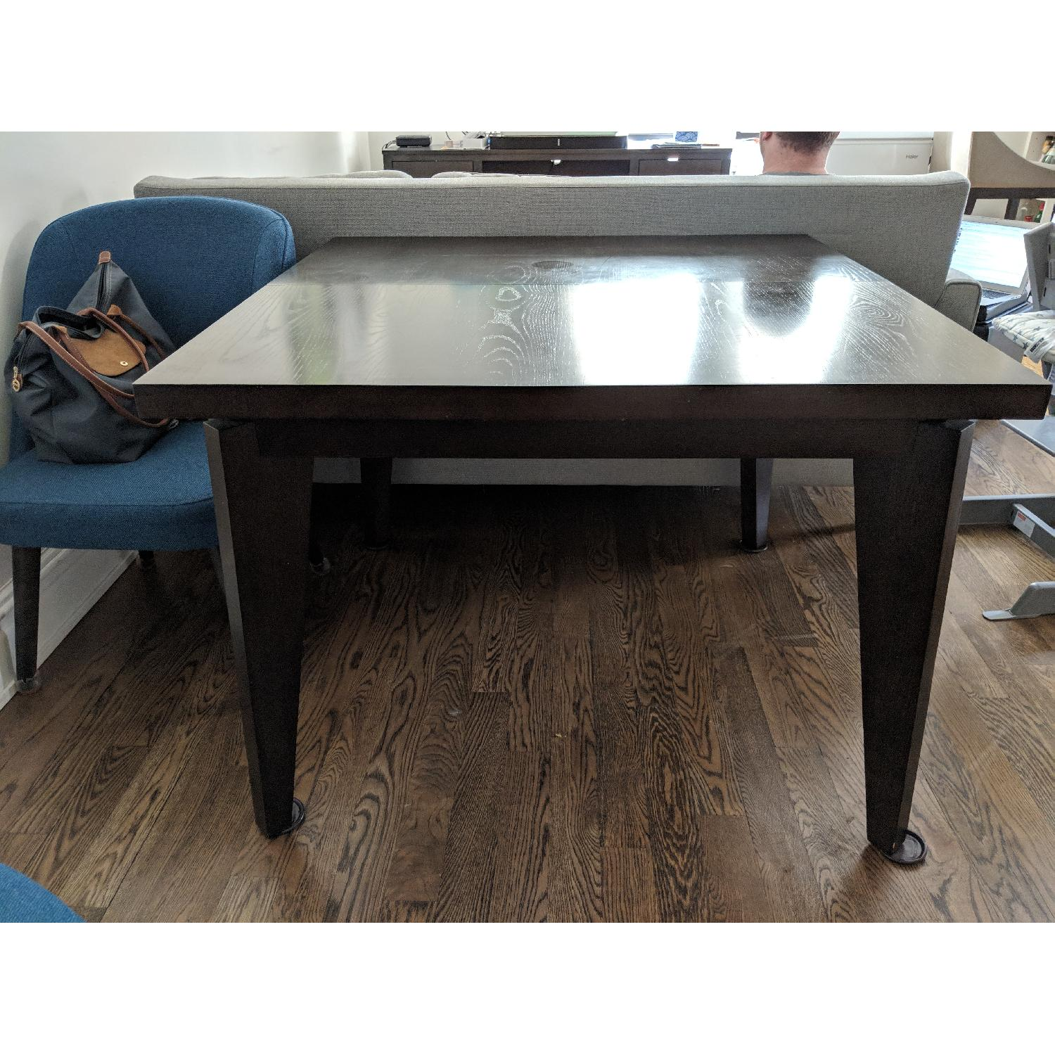 West Elm Angled-Leg Expandable Table-0