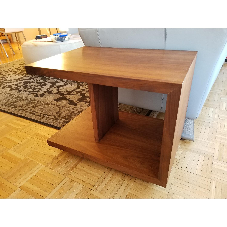 Room & Board Wood End Table in Walnut-0