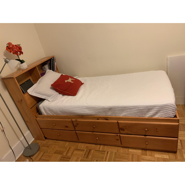 Gothic Cabinet Craft Twin Storage Bed-1