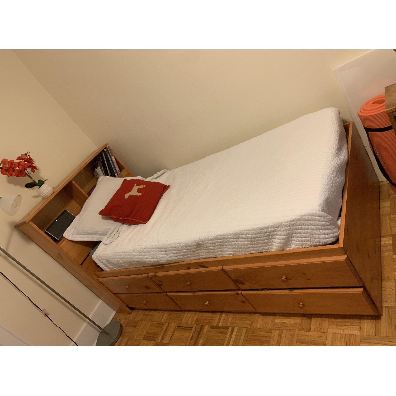 Gothic Cabinet Craft Twin Storage Bed-2