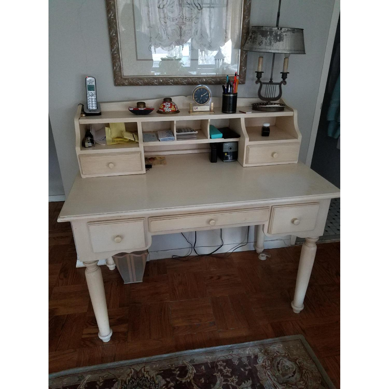 Crate & Barrel Desk w/ Hutch-0