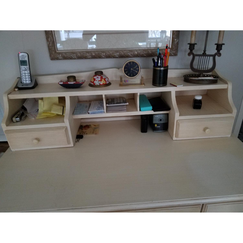 Crate & Barrel Desk w/ Hutch-1