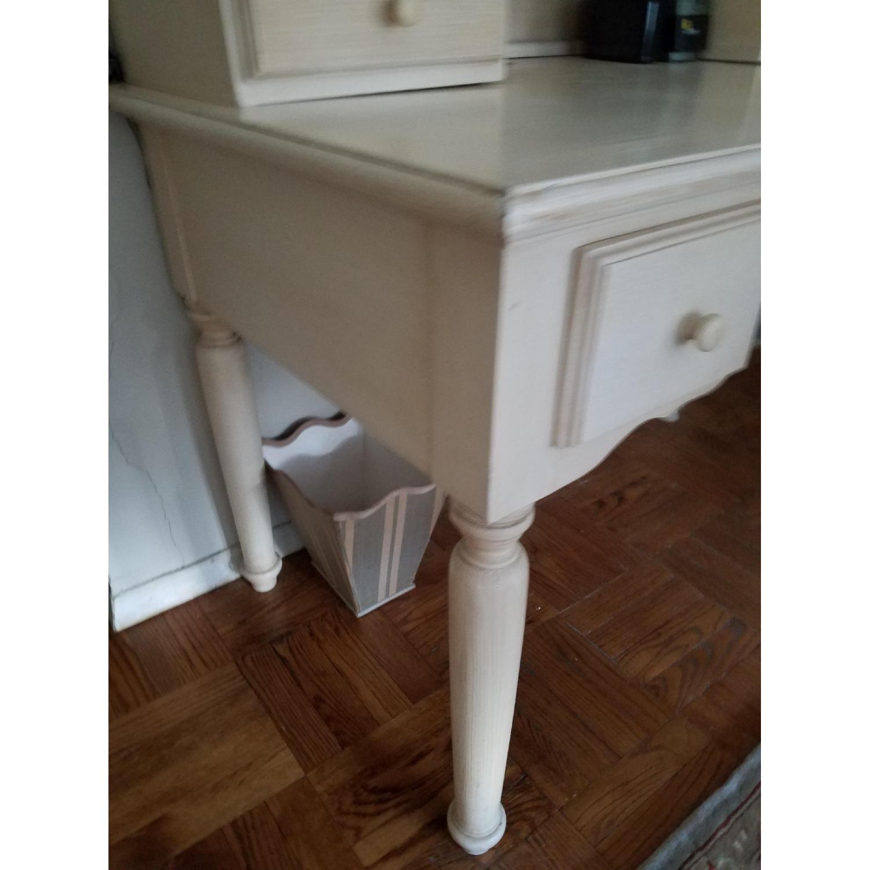 Crate & Barrel Desk w/ Hutch-2