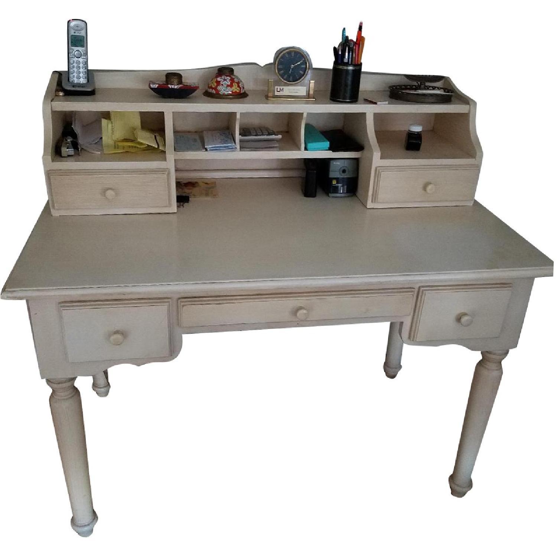Crate & Barrel Desk w/ Hutch