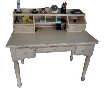 Crate & Barrel Desk w/ Hutch