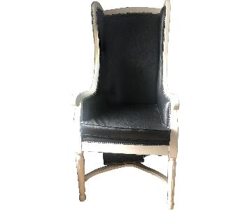 Custom Wing-Back Arm/Accent Chair