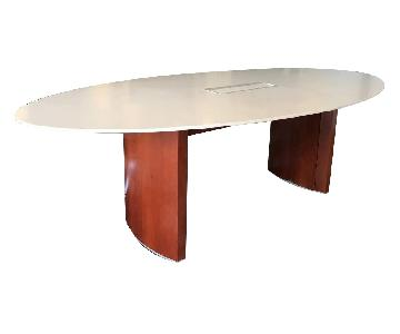 Tuohy Geneva Ellipse Conference Table