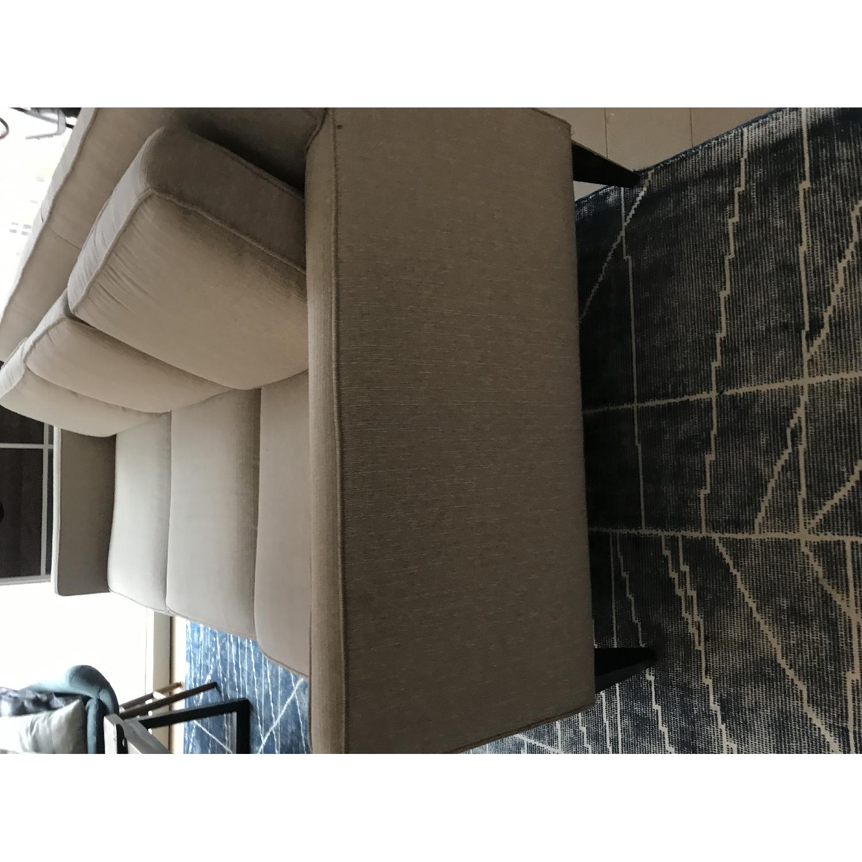 Crate & Barrel Rochelle Mid Century Modern Sofa-2