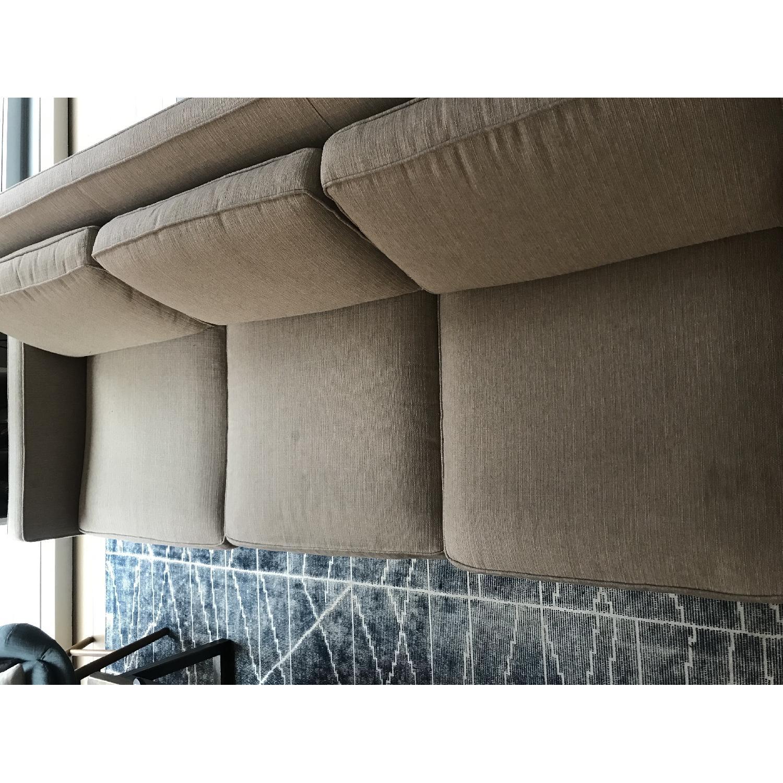 Crate & Barrel Rochelle Mid Century Modern Sofa-3