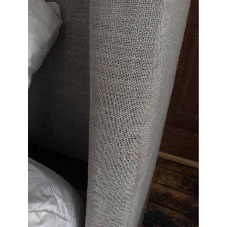 West Elm Upholstered Sleigh Bed-3