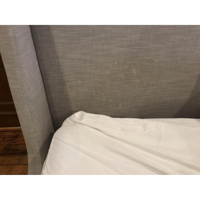 West Elm Upholstered Sleigh Bed-5