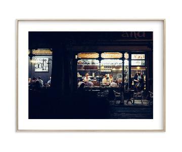 Minted Paris Nights Framed Print