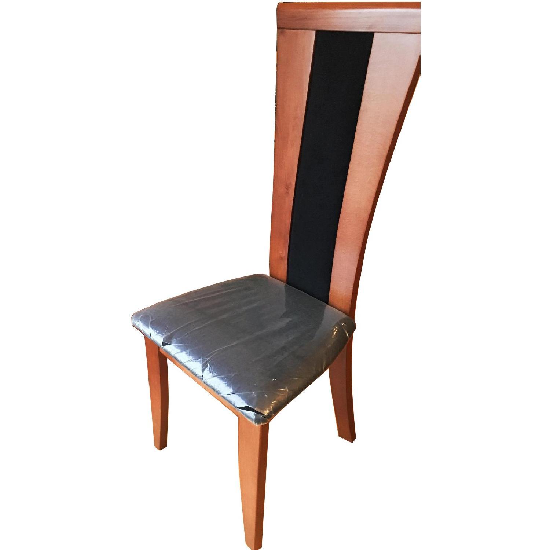 Miro Italian Wood High-Back Dining Chairs-2