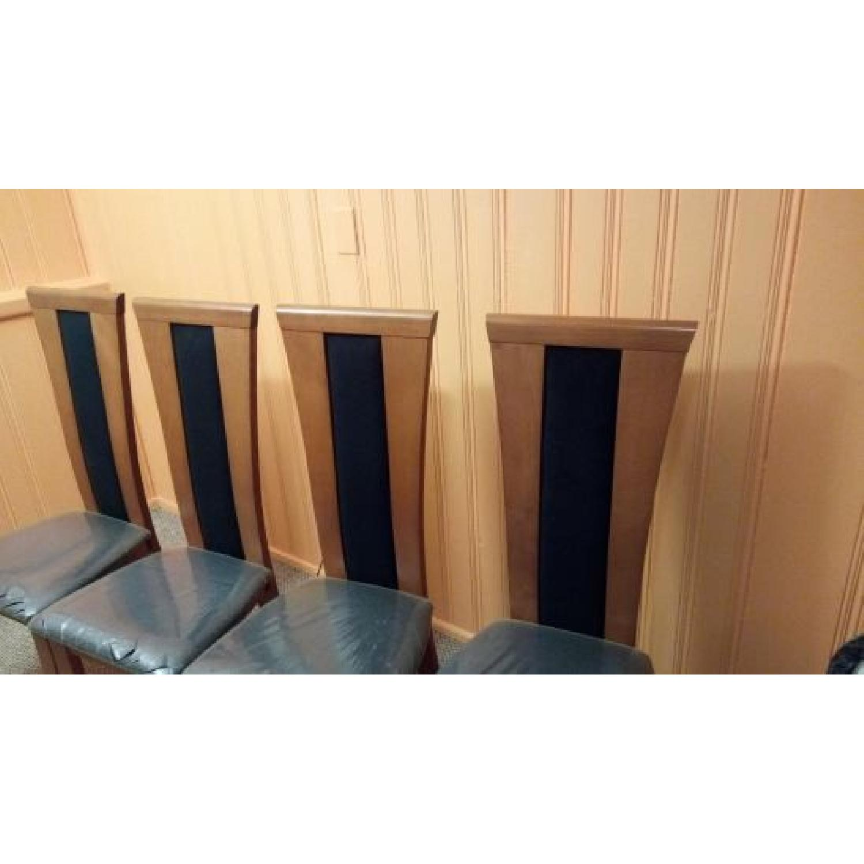 Miro Italian Wood High-Back Dining Chairs-3