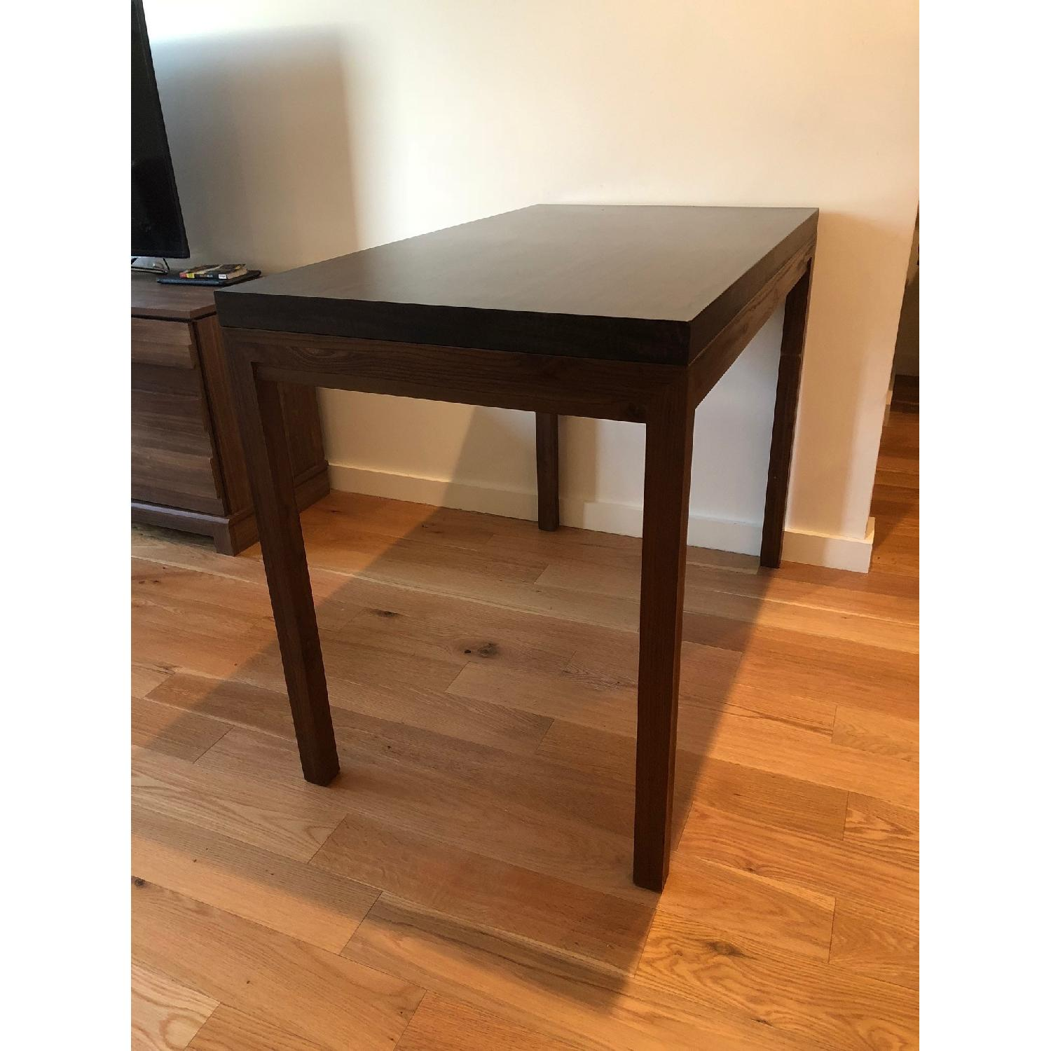 Crate & Barrel Parsons High Dining Table-1