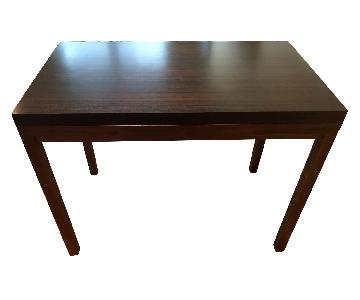 Crate & Barrel Parsons High Dining Table