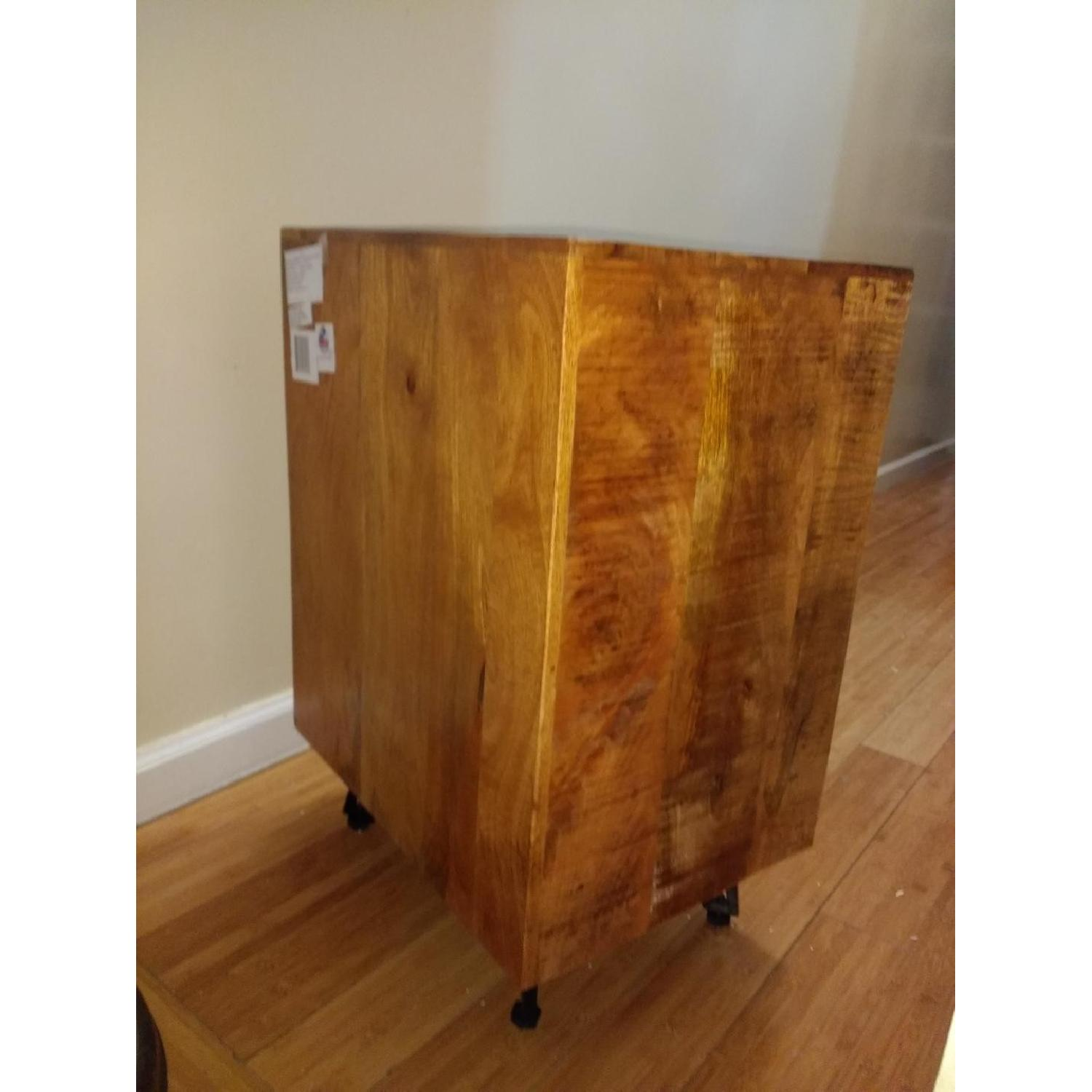 Raymour & Flanigan Office Cabinet/Printer Table-0