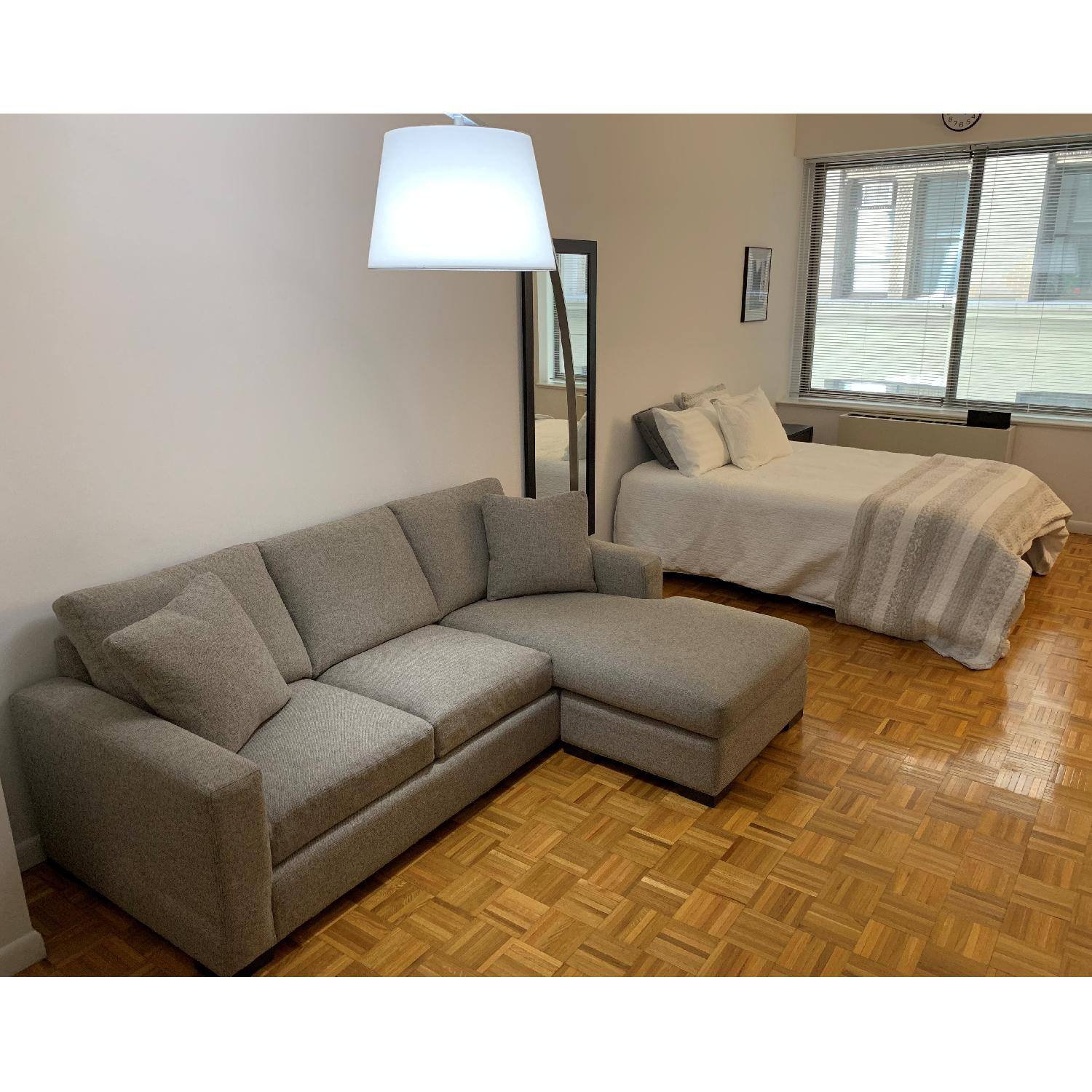 Room & Board Sectional Sofa w/ Reversible Chaise-1