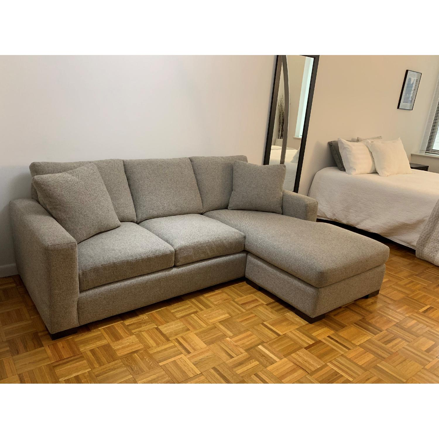 Room & Board Sectional Sofa w/ Reversible Chaise-2