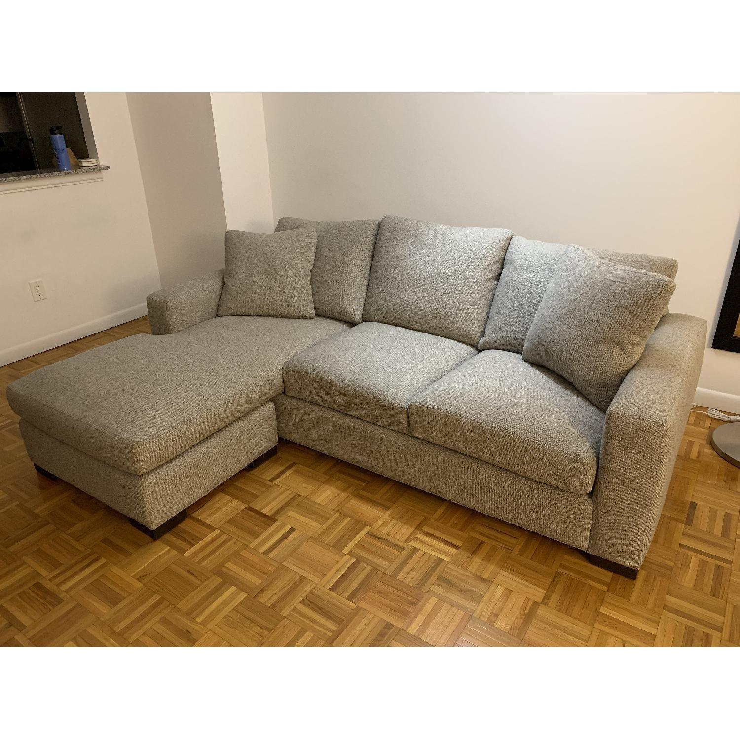 Room & Board Sectional Sofa w/ Reversible Chaise-4