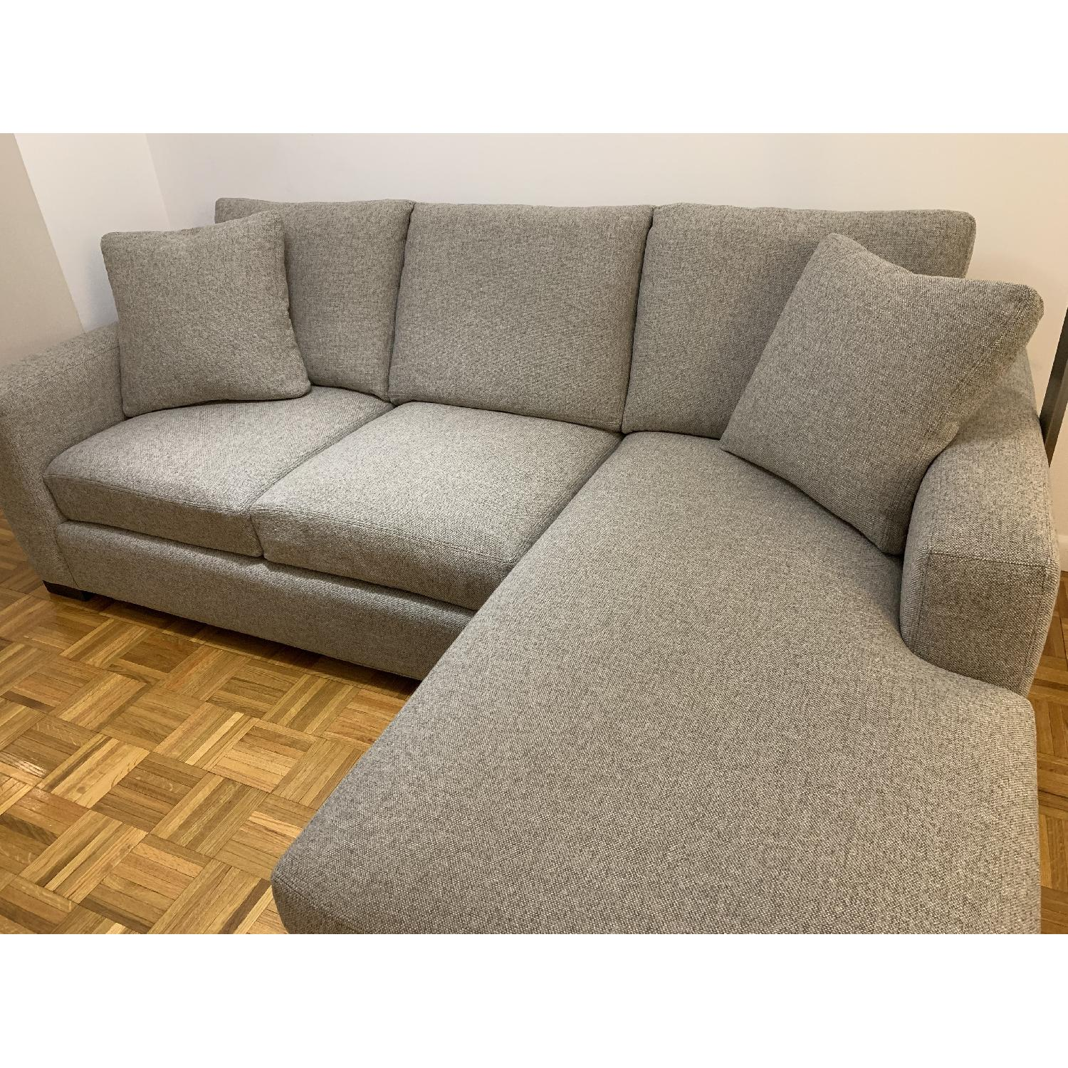 Room & Board Sectional Sofa w/ Reversible Chaise-7