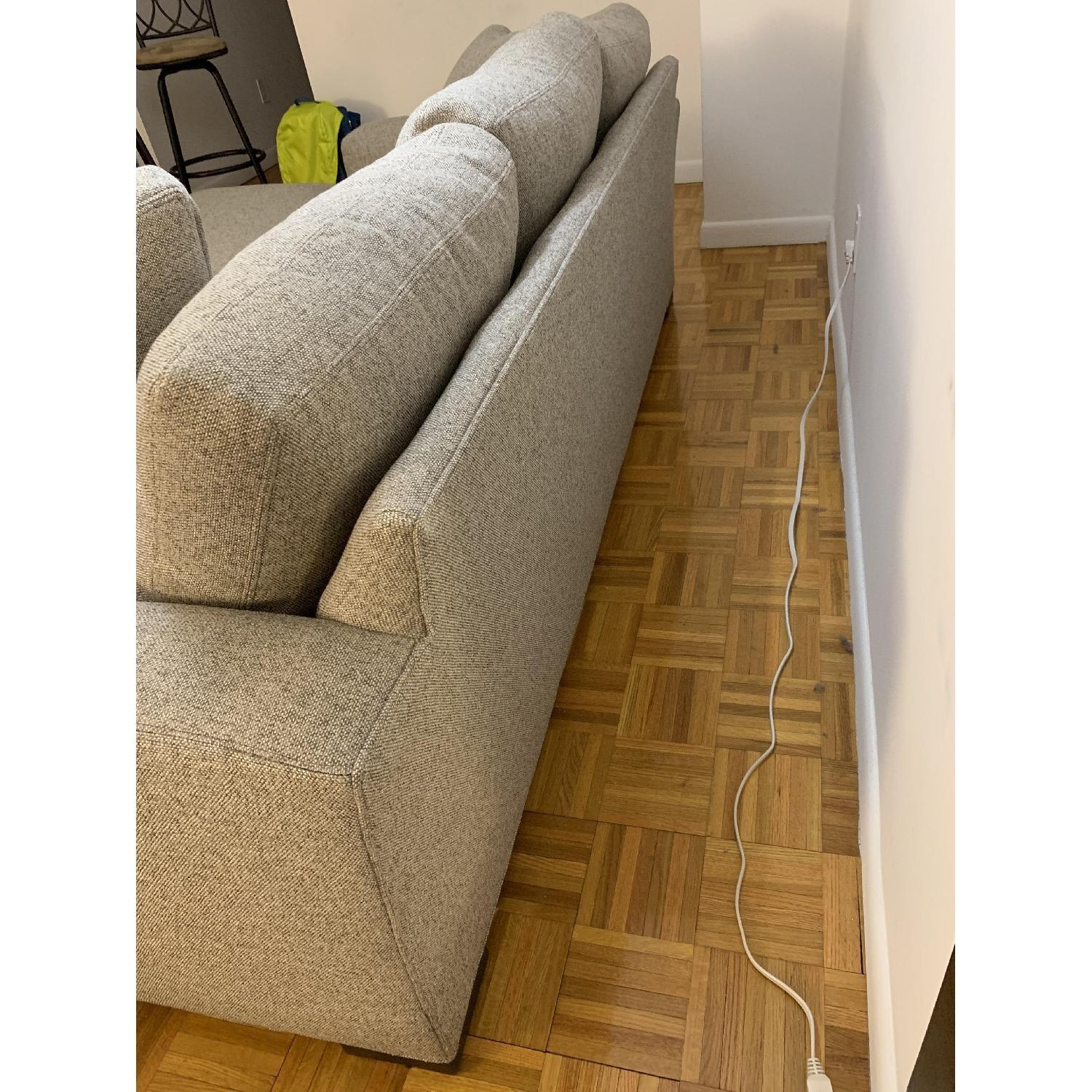 Room & Board Sectional Sofa w/ Reversible Chaise-8