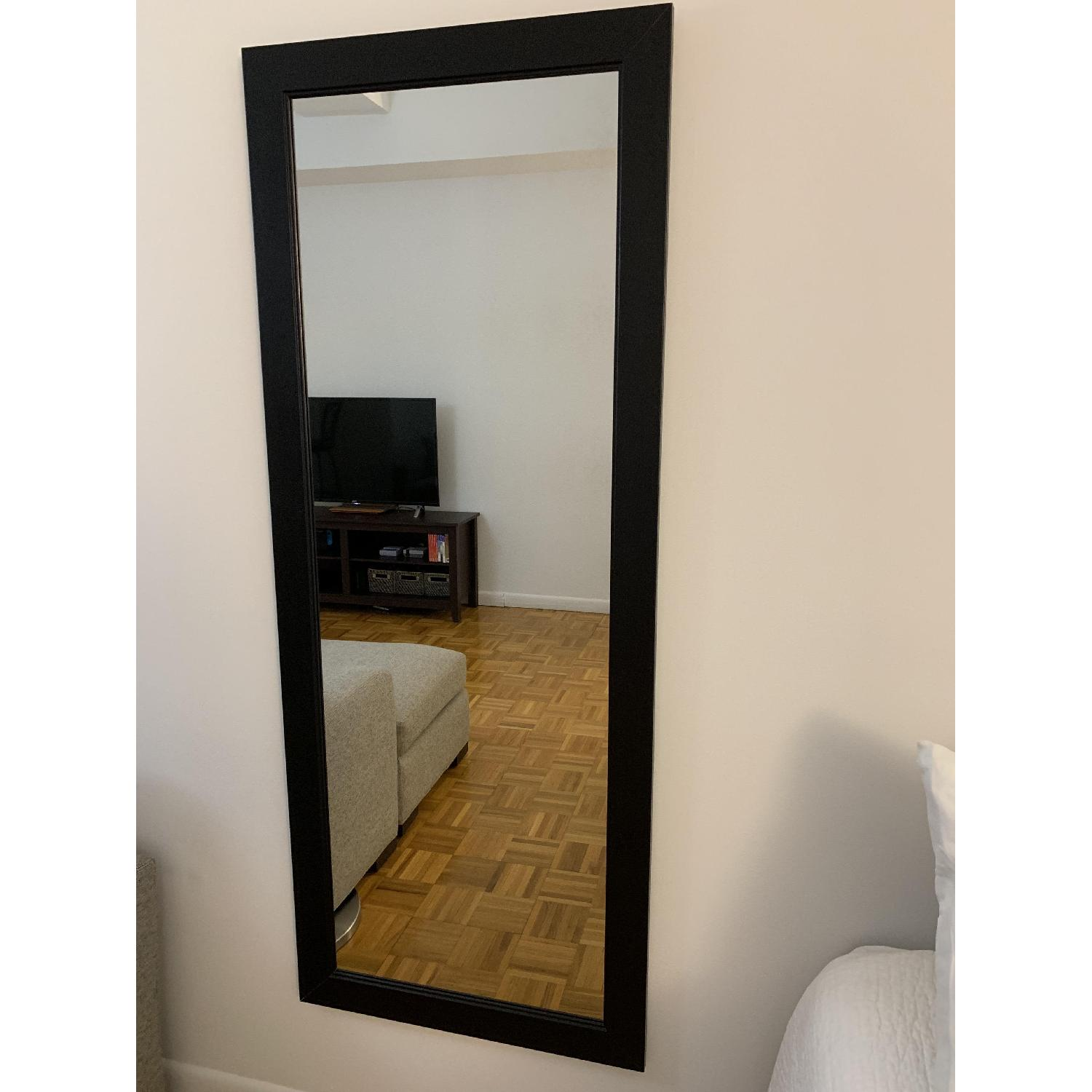 Black-Framed Full Length Mirror-1
