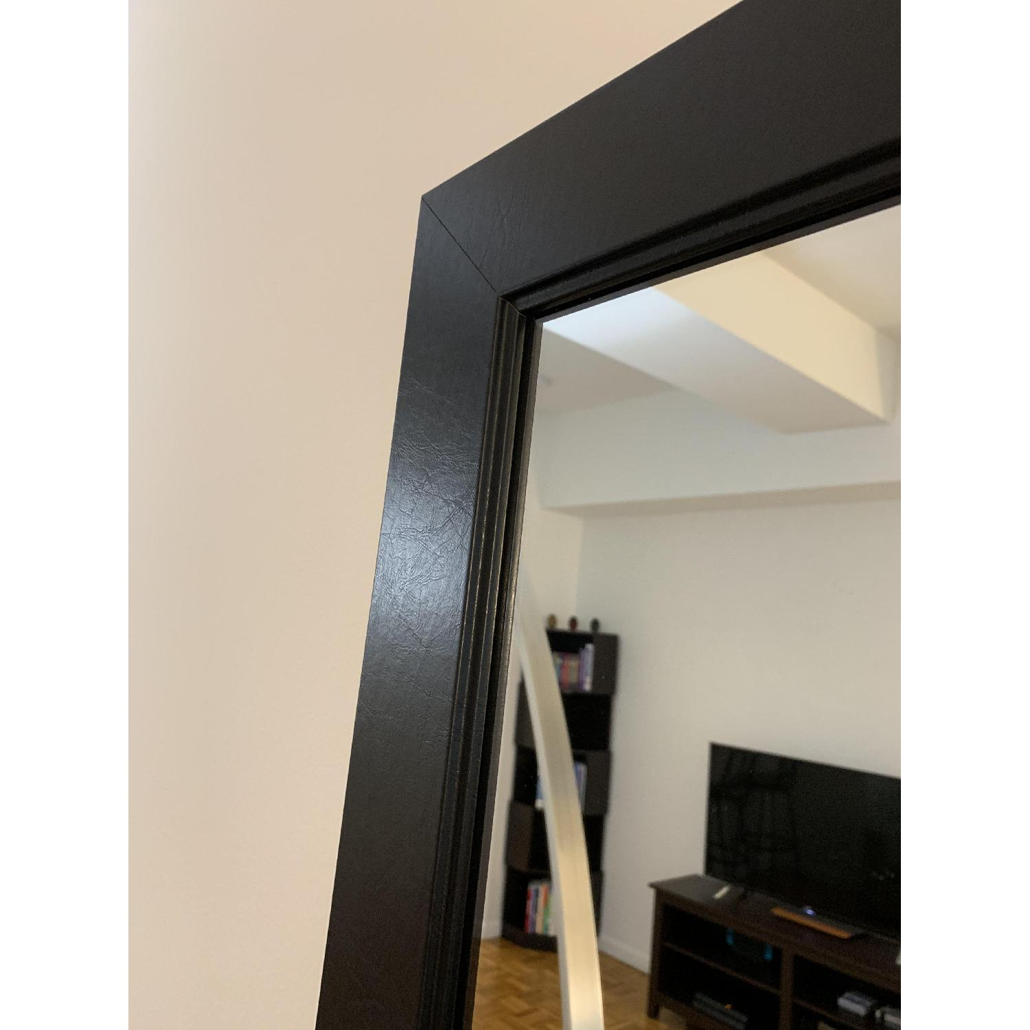 Black-Framed Full Length Mirror-3