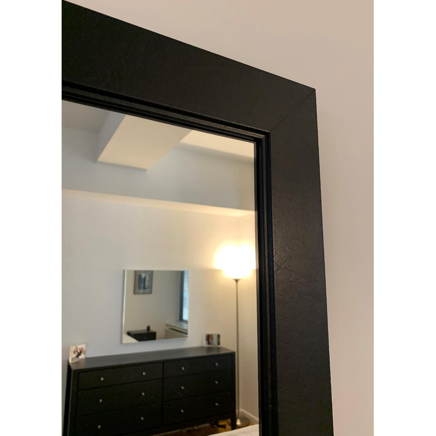 Black-Framed Full Length Mirror-4
