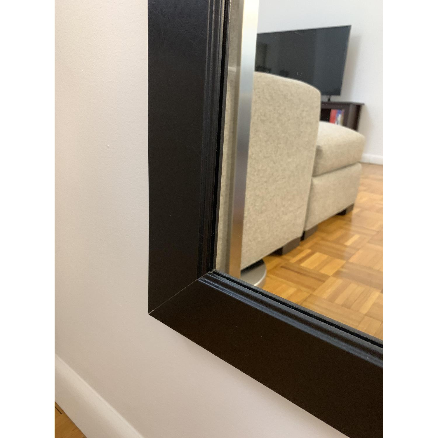Black-Framed Full Length Mirror-5
