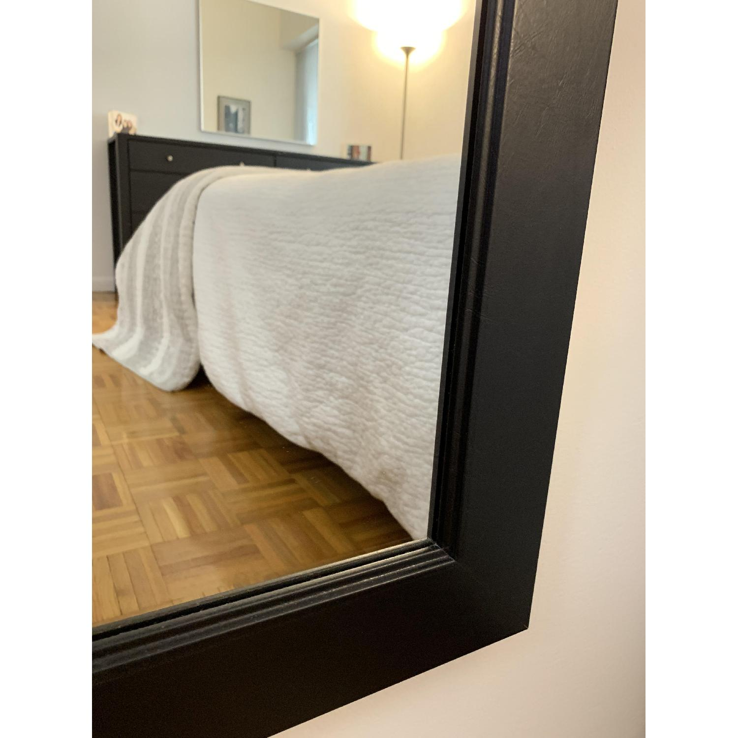 Black-Framed Full Length Mirror-6