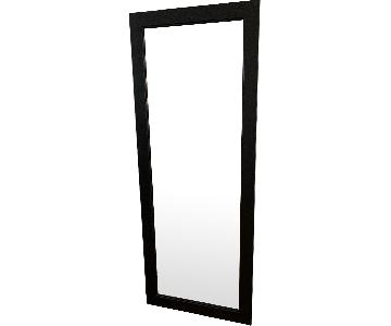 Black-Framed Full Length Mirror