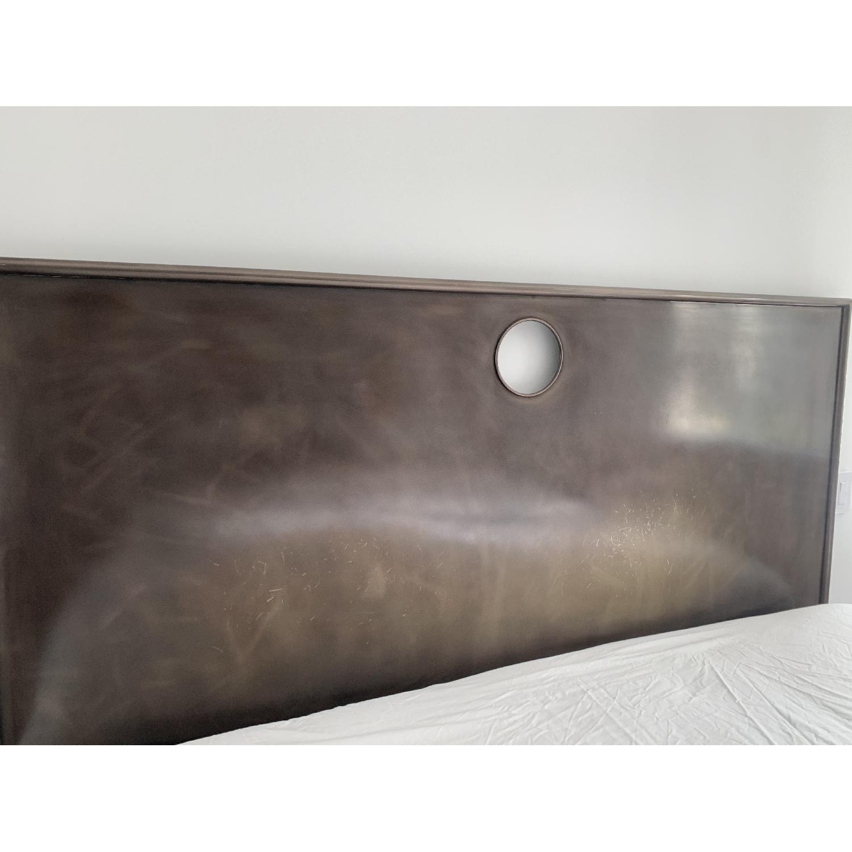 Restoration Hardware Metal Keyhole Bed-3