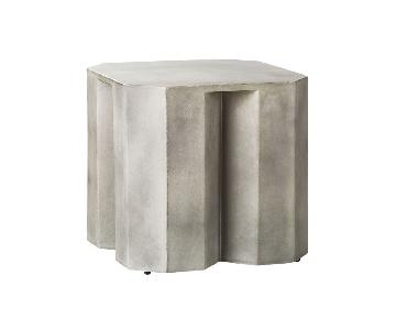 CB2 Hex Low Side Table