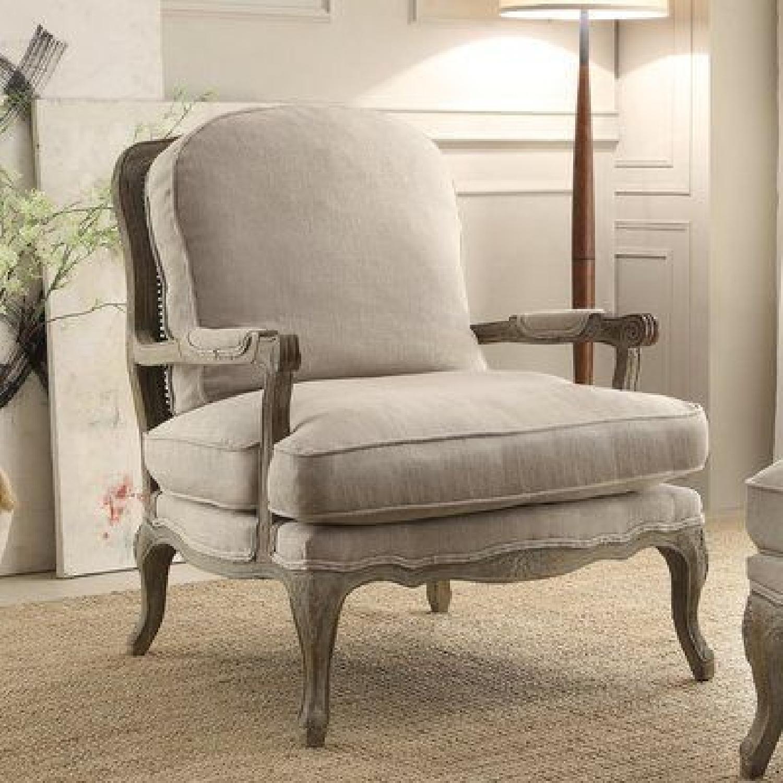 Lark Manor French Armchair & Optional Ottoman-3