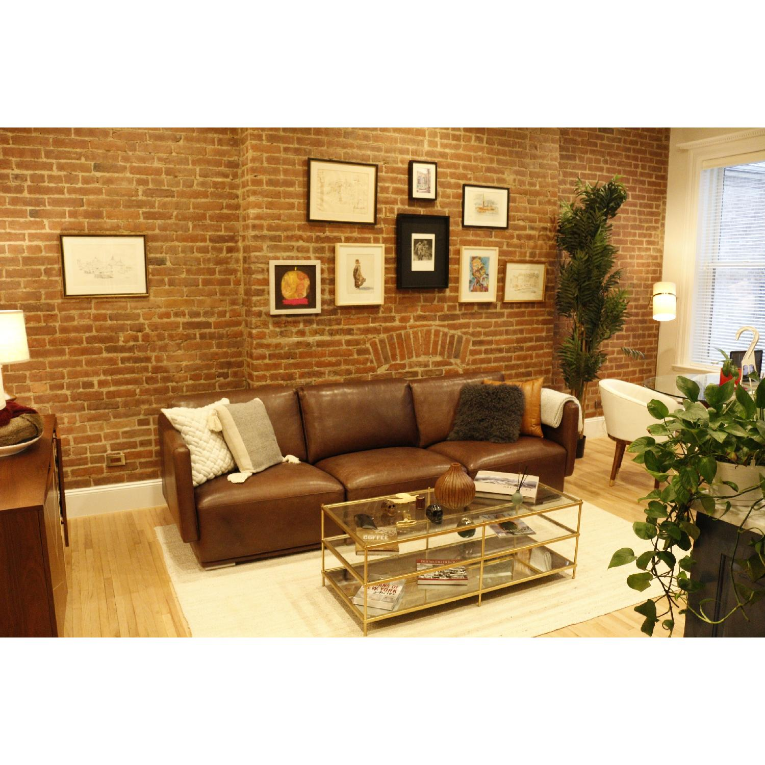 Cliff Young Marco Leather Sectional Sofa-0