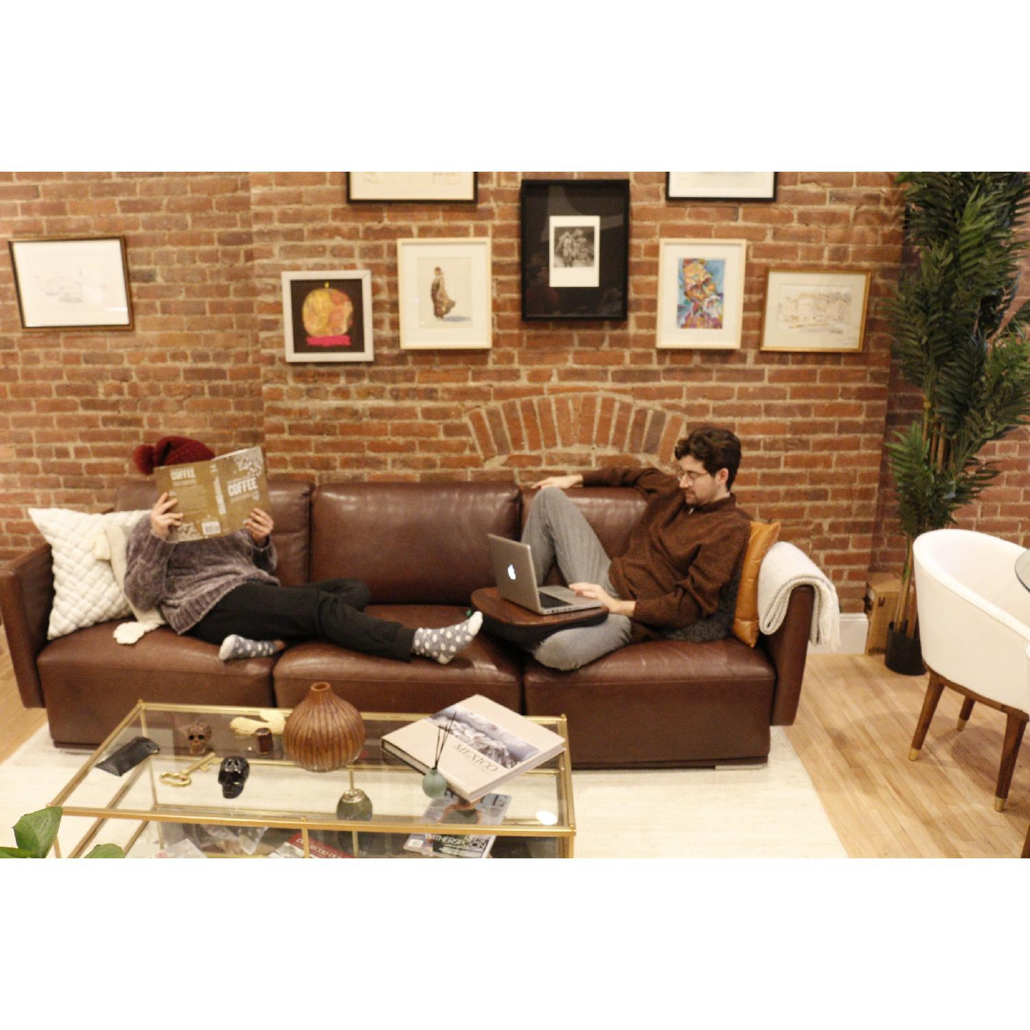 Cliff Young Marco Leather Sectional Sofa-1